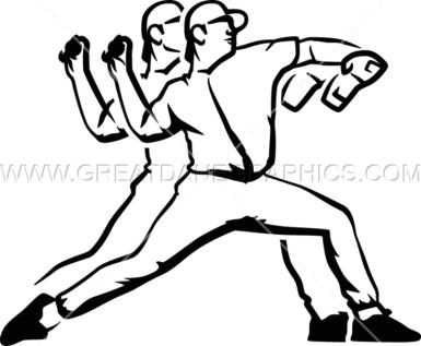 pitching logo